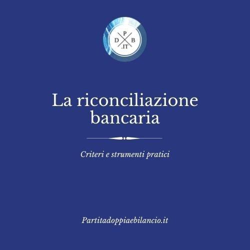 riconciliazione bancaria